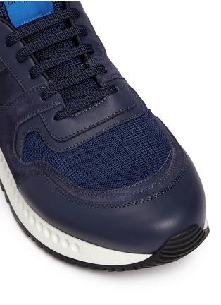 细节 - 点击放大 - GIVENCHY - RETRO RUNNERS拼接运动鞋
