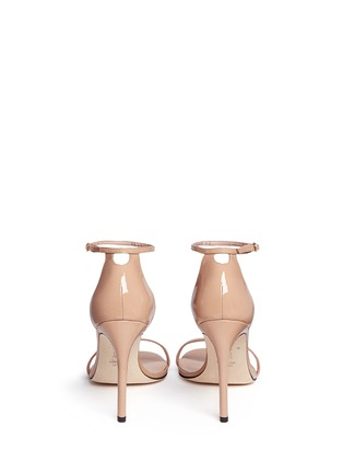 背面 - 点击放大 - STUART WEITZMAN - Nudistsong漆皮高跟凉鞋