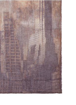 细节 - 点击放大 - FALIERO SARTI - Sky纽约主题混羊毛围巾