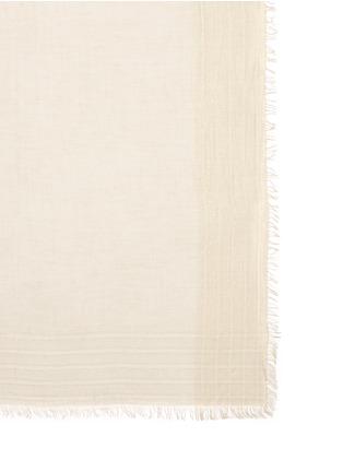 细节 - 点击放大 - FALIERO SARTI - JIN金属线条纹须边围巾