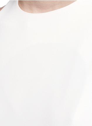 细节 - 点击放大 - ACNE STUDIOS - GLENNA不对称长款上衣