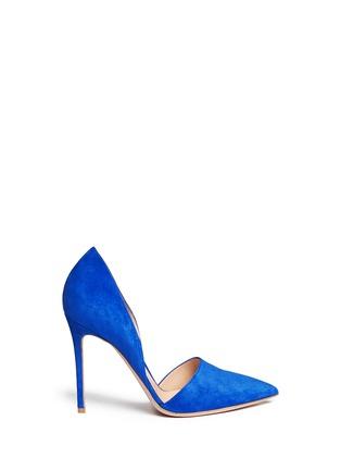 首图 - 点击放大 - GIANVITO ROSSI - 麂皮侧空尖头高跟鞋