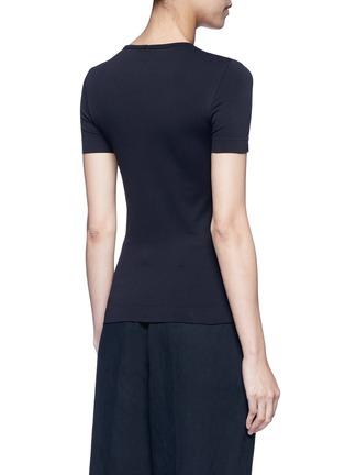 背面 - 点击放大 - HELMUT LANG - 弹性短袖T恤