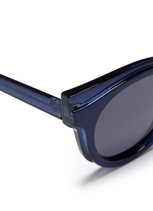 细节 - 点击放大 - SELF-PORTRAIT - x Le Specs EDITION 3拼接板材Wayfarer太阳眼镜