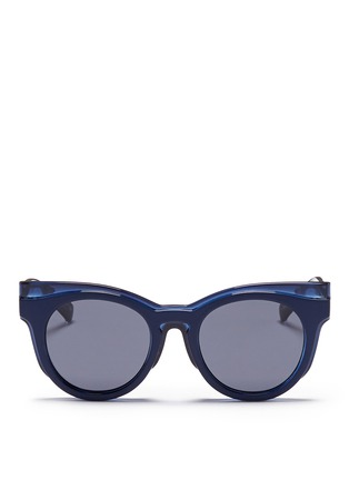 首图 - 点击放大 - SELF-PORTRAIT - x Le Specs EDITION 3拼接板材Wayfarer太阳眼镜