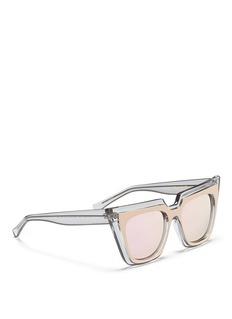 SELF-PORTRAIT x Le Specs EDITION 1双重猫眼方框太阳眼镜