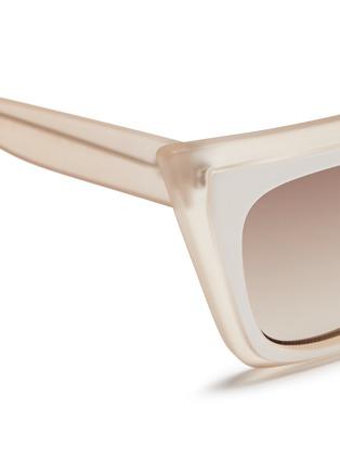 细节 - 点击放大 - SELF-PORTRAIT - x Le Specs EDITION 1双重猫眼方框太阳眼镜