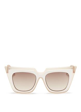 首图 - 点击放大 - SELF-PORTRAIT - x Le Specs EDITION 1双重猫眼方框太阳眼镜