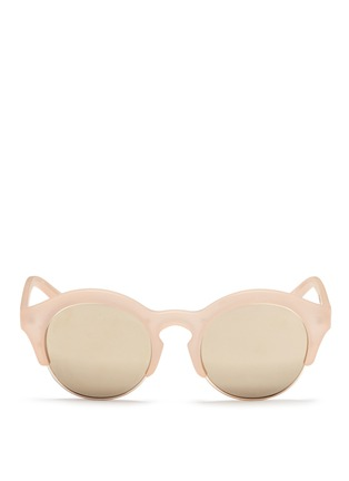 首图 - 点击放大 - SELF-PORTRAIT - x Le Specs Edition 5半粗框太阳眼镜