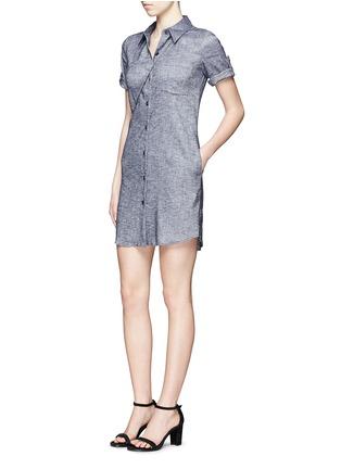 模特示范图 - 点击放大 - THEORY - MAYVINE青年布衬衫裙