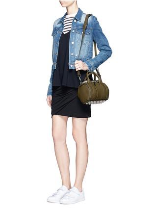 模特儿示范图 - 点击放大 - JAMES PERSE - 褶皱装饰棉质半身裙