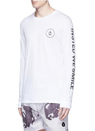 正面 - 点击放大 - INSTED WE SMILE - 品牌标志纯棉T恤