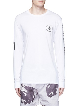首图 - 点击放大 - INSTED WE SMILE - 品牌标志纯棉T恤