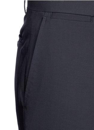 细节 - 点击放大 - THEORY - 'Marlo' straight leg stretch wool pants