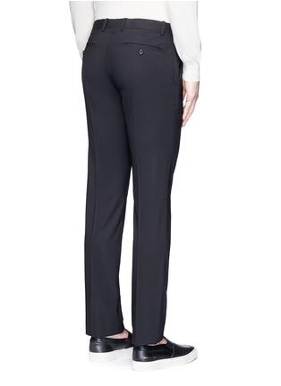 背面 - 点击放大 - THEORY - 'Marlo' straight leg stretch wool pants