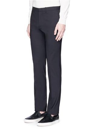正面 - 点击放大 - THEORY - 'Marlo' straight leg stretch wool pants