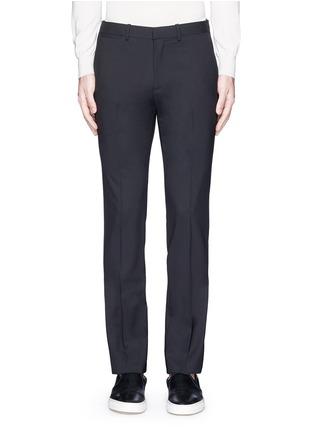 首图 - 点击放大 - THEORY - 'Marlo' straight leg stretch wool pants