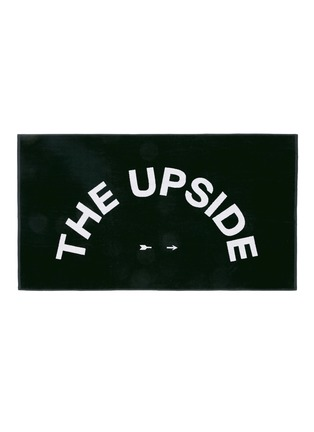 细节 - 点击放大 - THE UPSIDE - 品牌标志图案纯棉毛巾