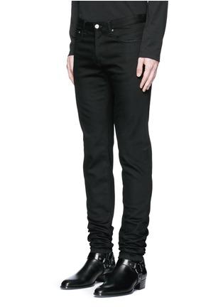 正面 -点击放大 - GIVENCHY - 搭带装饰棉质修身牛仔裤