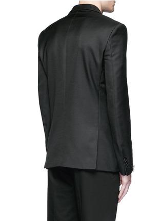 背面 - 点击放大 - GIVENCHY - 拉链装饰混羊毛西服外套