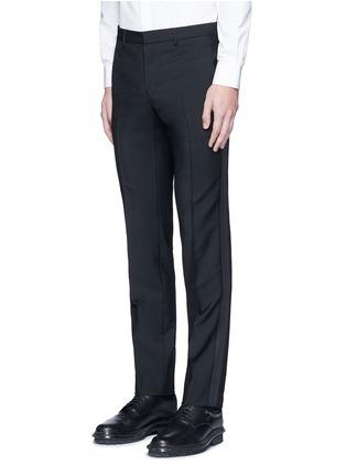 正面 -点击放大 - GIVENCHY - 星形条纹拼接混羊毛长裤