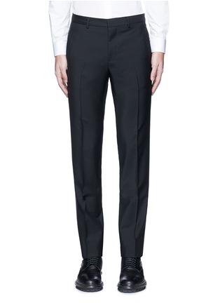 首图 - 点击放大 - GIVENCHY - 星形条纹拼接混羊毛长裤