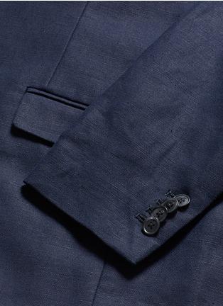 - SCOTCH & SODA - 单色棉混亚麻西服外套