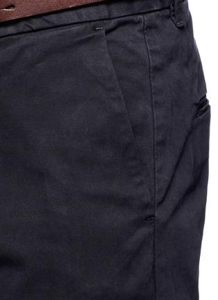 细节 - 点击放大 - SCOTCH & SODA - STUART修身腰带棉质长裤