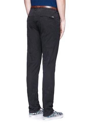 背面 - 点击放大 - SCOTCH & SODA - STUART修身腰带棉质长裤