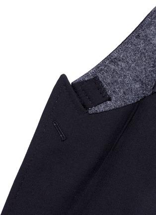 细节 - 点击放大 - DOLCE & GABBANA - 蜜蜂造型装饰初剪羊毛西服外套
