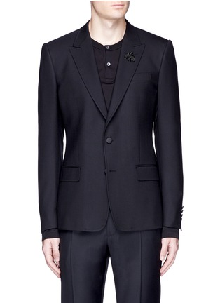 首图 - 点击放大 - DOLCE & GABBANA - 蜜蜂造型装饰初剪羊毛西服外套