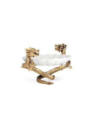 首图 –点击放大 - L'OBJET - Dragon双龙造型利摩日瓷碗-小