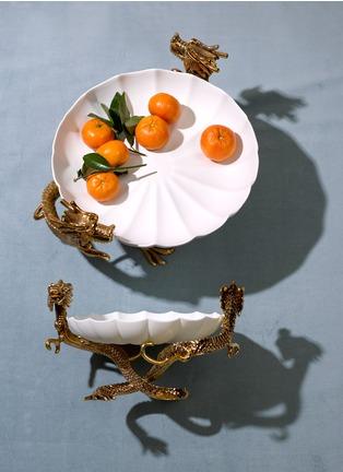 - L'OBJET - Dragon双龙造型利摩日瓷碗-大