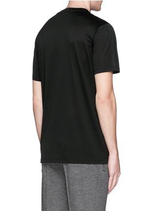 背面 - 点击放大 - LANVIN - 蜘蛛图案纯棉T恤