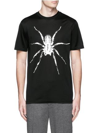 首图 - 点击放大 - LANVIN - 蜘蛛图案纯棉T恤