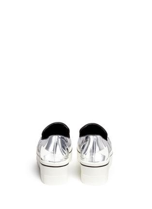 背面 - 点击放大 - STELLA MCCARTNEY - 星星拼贴厚底便鞋