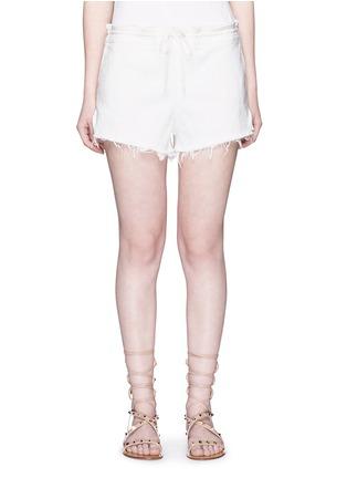 首图 - 点击放大 - CHLOÉ - 单色须边棉质短裤