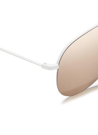 细节 - 点击放大 - VICTORIA BECKHAM - CLASSIC VICTORIA金属半框飞行员太阳眼镜