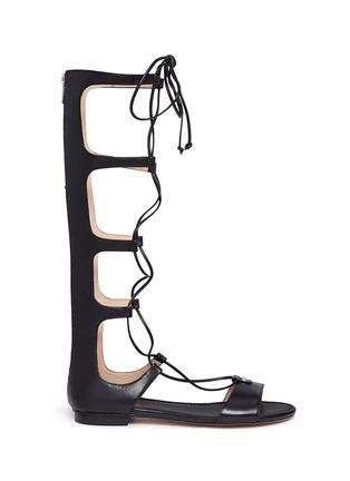 首图 - 点击放大 - MICHAEL KORS - 交叉系带罗马凉鞋