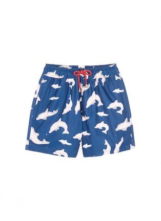 首图 - 点击放大 - Māzŭ - TAI O海豚印花游泳短裤