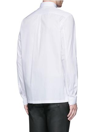 背面 - 点击放大 - BALENCIAGA - 铆钉扣纯棉府绸衬衫