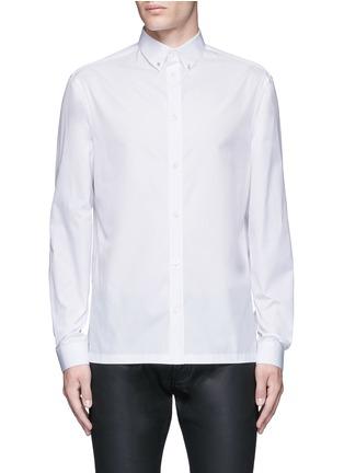 首图 - 点击放大 - BALENCIAGA - 铆钉扣纯棉府绸衬衫