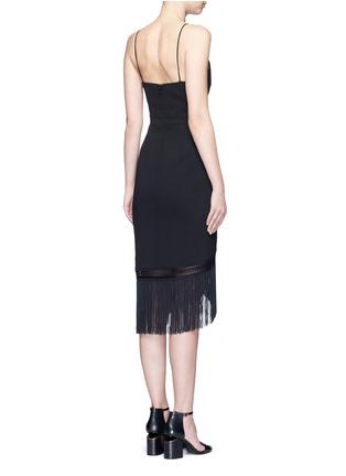 背面 - 点击放大 - NICHOLAS - 流苏裙摆吊带连衣裙