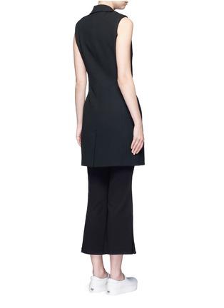 背面 - 点击放大 - NICHOLAS - 西服款式单色连衣裙