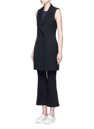 正面 - 点击放大 - NICHOLAS - 西服款式单色连衣裙
