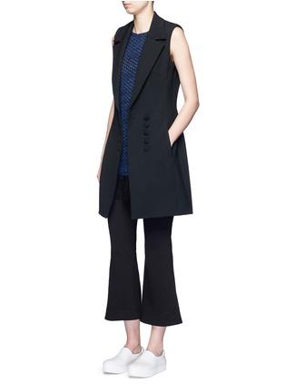 模特示范图 - 点击放大 - NICHOLAS - 西服款式单色连衣裙