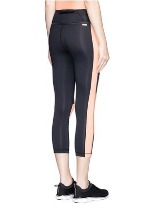 背面 - 点击放大 - ALALA - 拼色七分紧身运动裤
