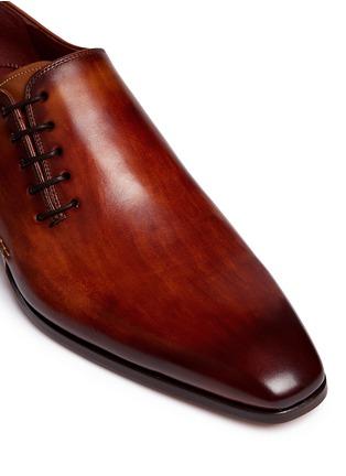 细节 - 点击放大 - MAGNANNI - 侧系带纹理皮鞋