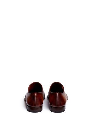 背面 - 点击放大 - MAGNANNI - 侧系带纹理皮鞋
