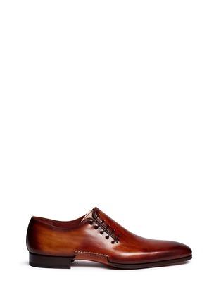 首图 - 点击放大 - MAGNANNI - 侧系带纹理皮鞋